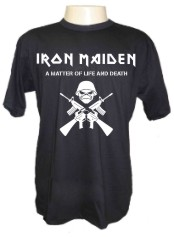 Camiseta iron maiden army